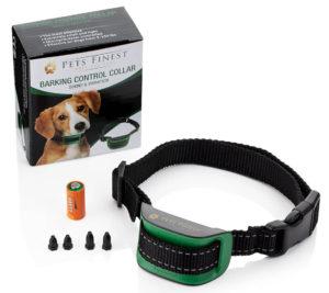 Der Bestseller der Erziehungshalsbänder: Pets Finest als Angebot bei Amazon eignet sich für große und kleine Hunde.