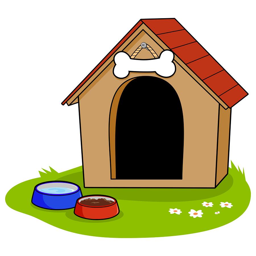 hundehütte bausatz - schicke hütten für den hund bauen - antibell
